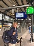 Klaar voor het avontuur. Vanaf StationDen Bosch naar station Zwolle