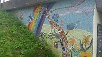Kunst op Viaduct in Groningen