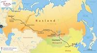 Route Trans Mongolie