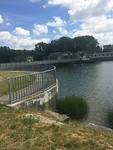 Wasserkraftwerk over de Lech.