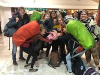 Op vliegveld Mexico-stad