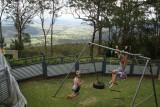 Uitzicht van Tambourine Mountain