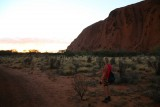 Uluru bij zonsopgang