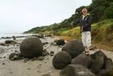 Boulders op een strand