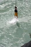 Bungy Jumper met dip