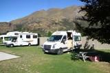 Onze camping op Arthurs Point