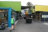 De zeecontainers als Mall