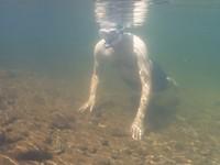 Snorkelen bij Edith Falls