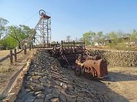 Oude machines mijnbouw, Pine Creek