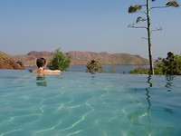Infinity Pool, Lake Argyle
