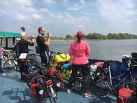 Veerpont bij Millingen aan de Rijn