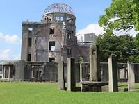 Atomic Bomb Dome; enige overblijfsel na de atoombom
