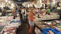 Grote vismarkt in Tokyo