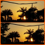 sunset at Bomi Hills