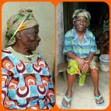Een oude vrouw