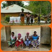 Meeting met de vrouwen uit Massatine