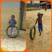 Spelende kinderen @ Massatine