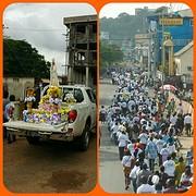 processie Monrovia