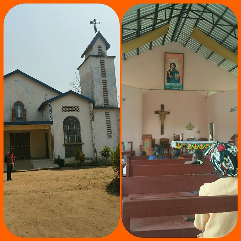 Katholieke kerk in Kwama