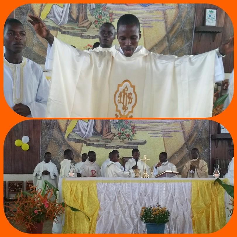 Priester inwijding Fr. Francis