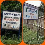 Een van de klinieken in Bomi