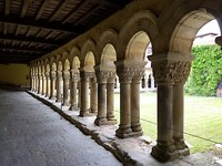 Indrukwekkende kloostergang
