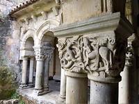 Detail kloostergang