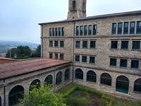 Uitzicht vanuit mijn kamer in het seminarie