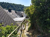 via de achterdeur Sankt Goarhausen binnenkomen