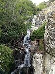 Waterval uitmondend in de Golo