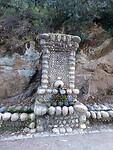 Typische Corsicaanse fontein