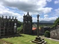 Fraai gelegen begraafplaats