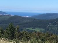 Uitzicht op de Kaap de Finisterre