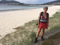 Het zandstrand van Fisterra