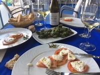 Salade en piemontes de Padron vooraf