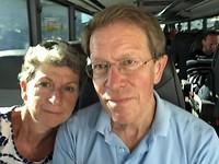 Selfie in de bus