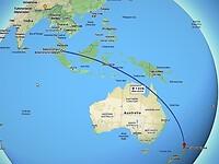 Vlucht Kuala Lumpur - Auckland