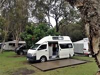 De camping in Port Macquarie.