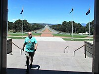 War Memorial in Canberra.