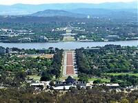 Uitzichtpunt vanaf Mount Ainslie.