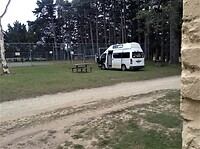 Camping op het Recreation Reserve in Majors Creek.