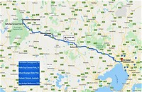 Route indeling deel 6 Australië 2013.