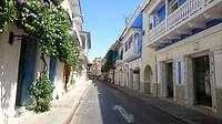 In het historisch centrum Getsemani van Cartagena.
