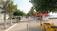 Op de boulevard van Santiago de Tolú.