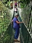 Canopy tocht door de jungle van Taman Negara NP.