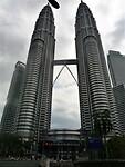Petronas Twin Towers het centrum van Kuala Lumpur.