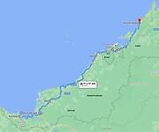 Route 3 Maleisië - Borneo 2014