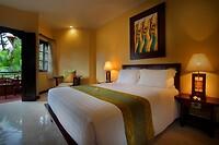 Onze kamer in het Adhi Dharma Hotel - Kuta