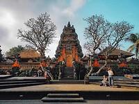 "De Watertempel ""Pura Taman Saraswati"" in Ubud"