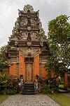 """Het koninklijk paleis """"Puri Saren Agung"""" in Ubud"""